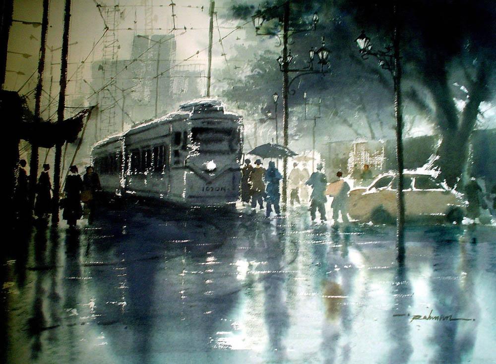 Rainwashed Kolkata